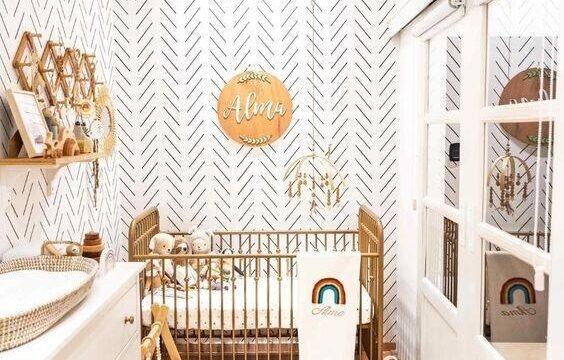 دکوراسیون اتاق کوچک نوزاد (10)