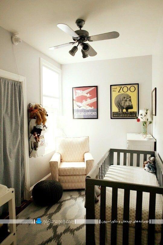 دکوراسیون اتاق کودک نوزاد. دیزاین اتاق کودک نوزاد اتاق خواب کودک نوزاد