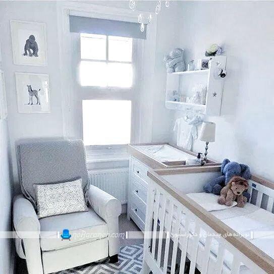 دکوراسیون اتاق کوچک نوزاد تزیین اتاق کوچک نوزاد دکوراسیون اتاق خواب کوچک نوزاد