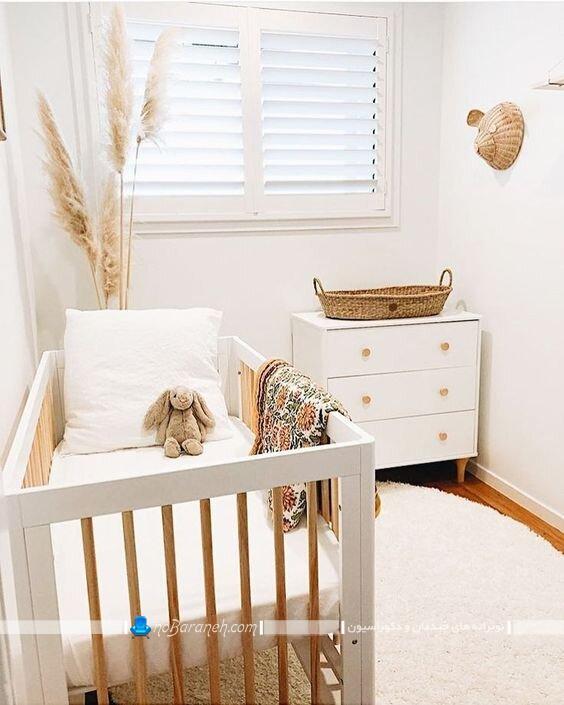 دکوراسیون اتاق کوچک برای نوزاد چیدمان اتاق کوچک برای نوزاد عکس