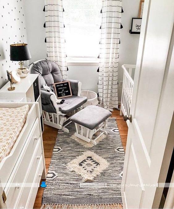 دکوراسیون اتاق خواب کوچک نوزاد در مدل های شیک فانتزی مدرن کلاسیک