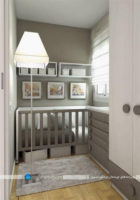 چیدمان اتاق خواب کوچک کودکچیدمان اتاق خواب کوچک کودک نوزاد. دکوراسیون اتاق بچه نوزاد با رنگ های سرد و سنگین