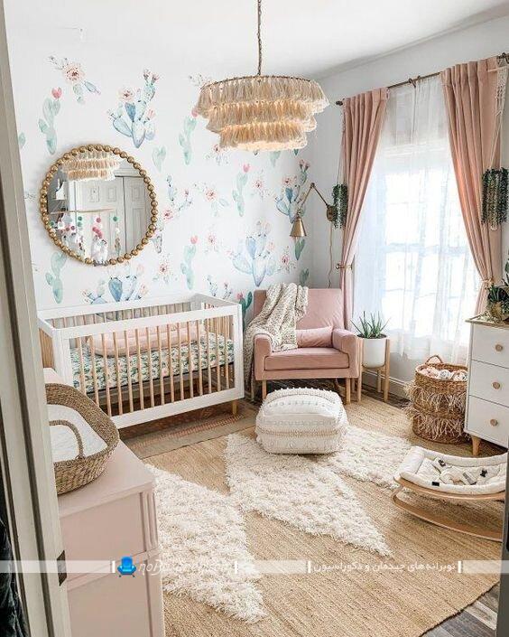 لوستر و چراغ فانتزی سقفی کودکانه سلطنتی. مدل های سلطنتی و شیک لوستر سقفی اتاق خواب نوزاد و کودک