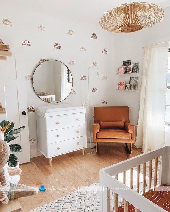 مدل های جدید لوستر اتاق کودک و نوزاد دختر و پسر. طرح های جدید و خوشکل لوستر و چراغ سقفی روشنایی نوزاد