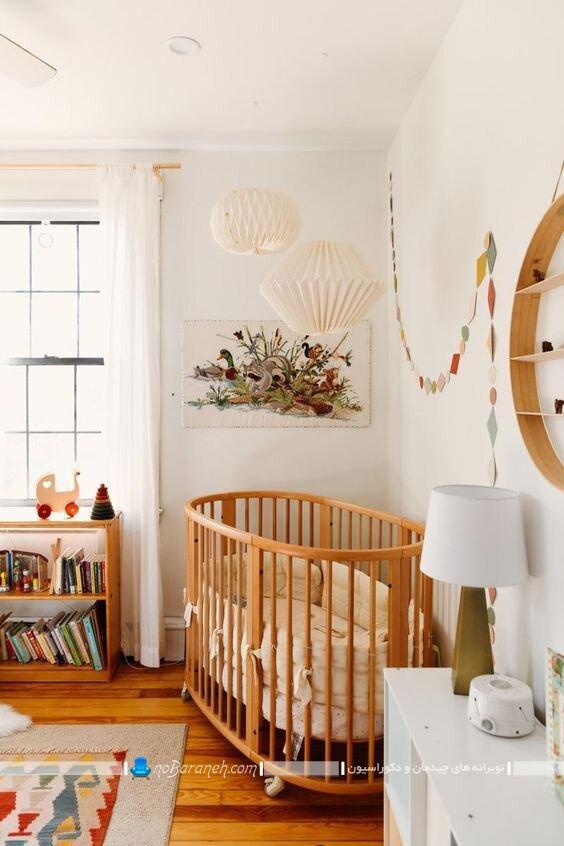 طرح و مدل جدید لوستر سقفی اتاق نوزاد فانتزی شیک مدرن.
