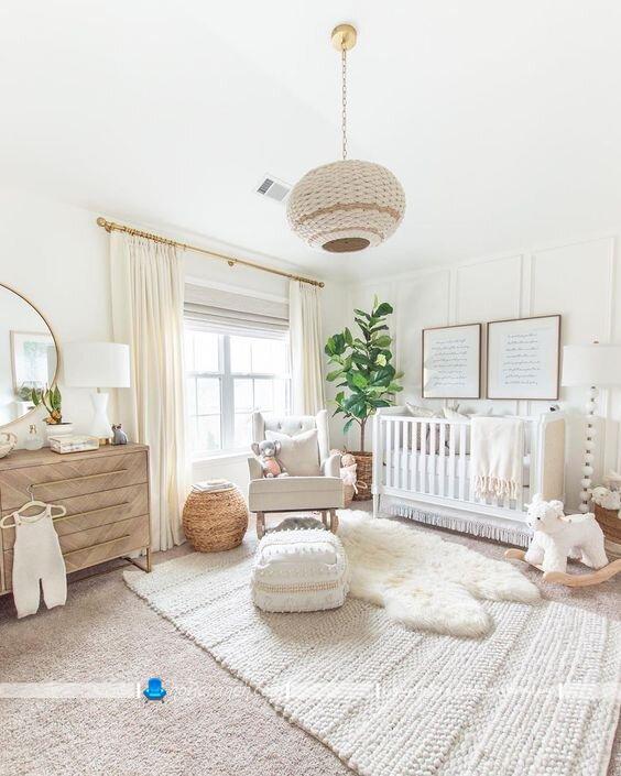 لوستر اتاق کودک نوزاد مدل های جدید چراغ سقفی تزیینی و مدرن شیک اتاق نوزاد. لوستر چوبی و حصیری اتاق نوزاد در مدل های جدید