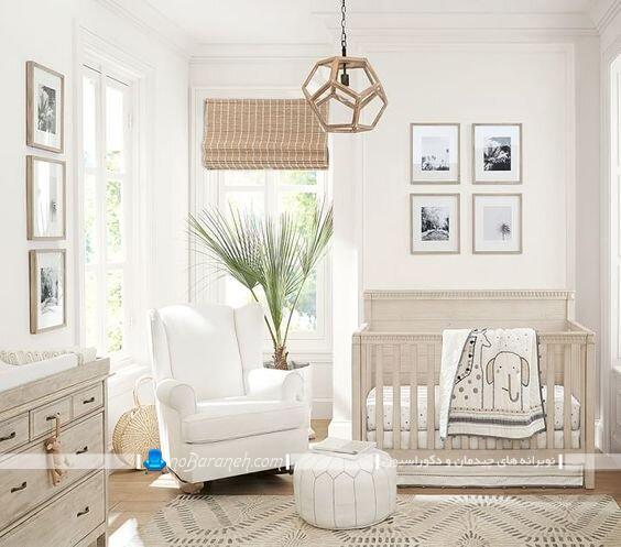 لوستر بچگانه ساده و مدرن شیک برای اتاق نوزاد. مدل های جدید لوستر و چراغ سقفی اتاق بچه دختر و پسر نوزاد. لوستر مناسب اتاق بچه