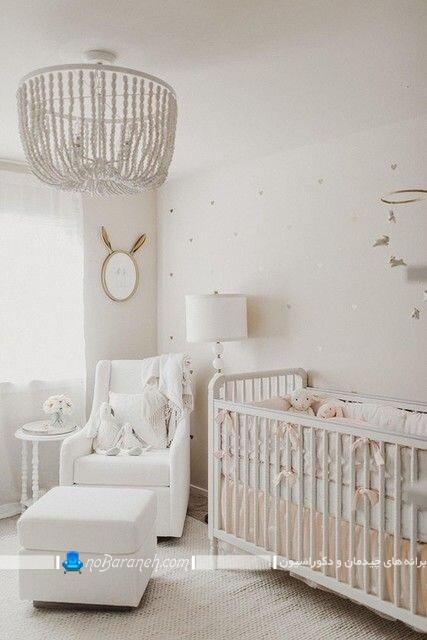 لوستر فانتزی و بچگانه اتاق نوزاد دختر و پسر. جدیدترین مدل های چراغ روشنایی اتاق بچه نوزاد