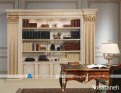 کتابخانه چوبی سلطنتی کلاسیک