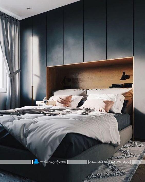 مدل ساده کمد چوبی برای اتاق خواب. مدل های جدید کمد دیواری مدرن شیک اتاق خواب با عکس