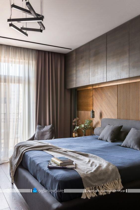 کمد دیواری های مدرن ام دی اف mdf برای اتاق خواب