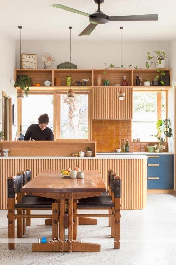 دکوراسیون مدرن آشپزخانه اپن با عکس و مدل های جدید و شیک. مدل اپن آشپزخانه با طراحی جدید و شیک مدرن