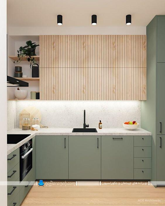دکوراسیون شیک و مدرن آشپزخانه