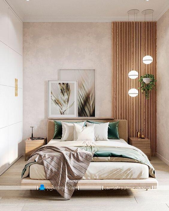 تزیینات چوبی اتاق خواب دکورادکوراسیون اتاق خواب ساده و شیک وسایل تزیینی دست ساز اتاق خوابسیون اتاق خواب ساده و شیک