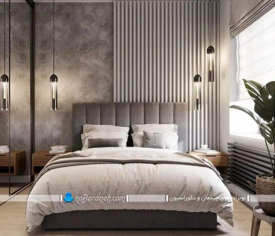 عکس مدل های تزیین و نورپردازی اتاق خواب